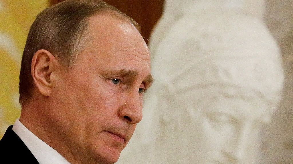Russian President Vladimir Putin. (Photo: AP)