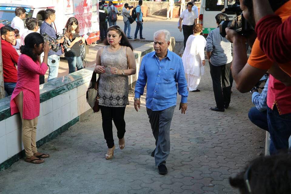 Ramesh Sippy with wife, Kiran Juneja. (Photo: Yogen Shah)