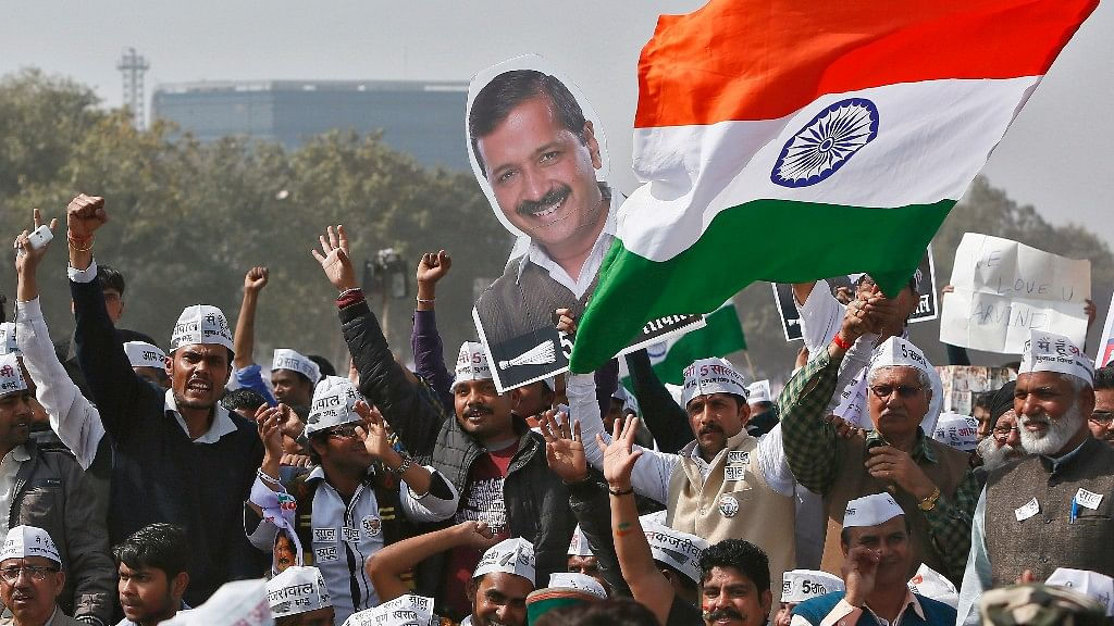 Arvind Kejriwal's party AAP was decimated in the Delhi Municipal Corporation elections, held on Sunday. (Photo: Reuters)