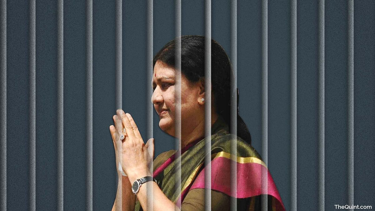 VK Sasikala Violates Prison Rules, Meets Visitors 12 Times a Month