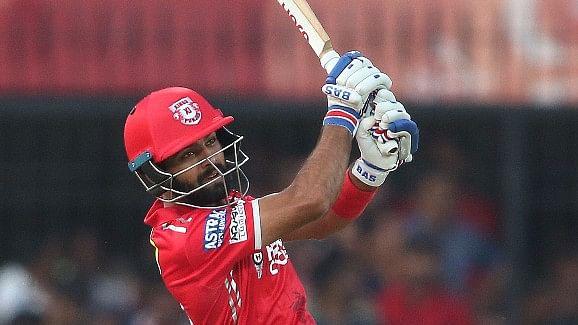 Manan Vohra scored 95 runs off 50 balls against Sunrisers Hyderabad. (Photo: BCCI)