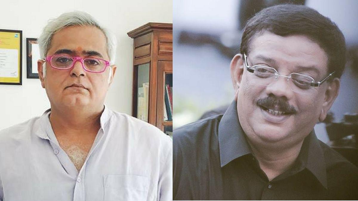 "Hansal Mehta and Priyadarshan. (Photo courtesy: Facebook/ <a href=""https://www.facebook.com/DirectorPriyadarshan/photos/a.665928116810807.1073741829.664766713593614/827198480683769/?type=3&amp;theater"">director priyadarshan</a>/ <a href=""https://www.facebook.com/photo.php?fbid=10154005952972578&amp;set=t.690057577&amp;type=3&amp;theater"">hansalmehta</a>)"