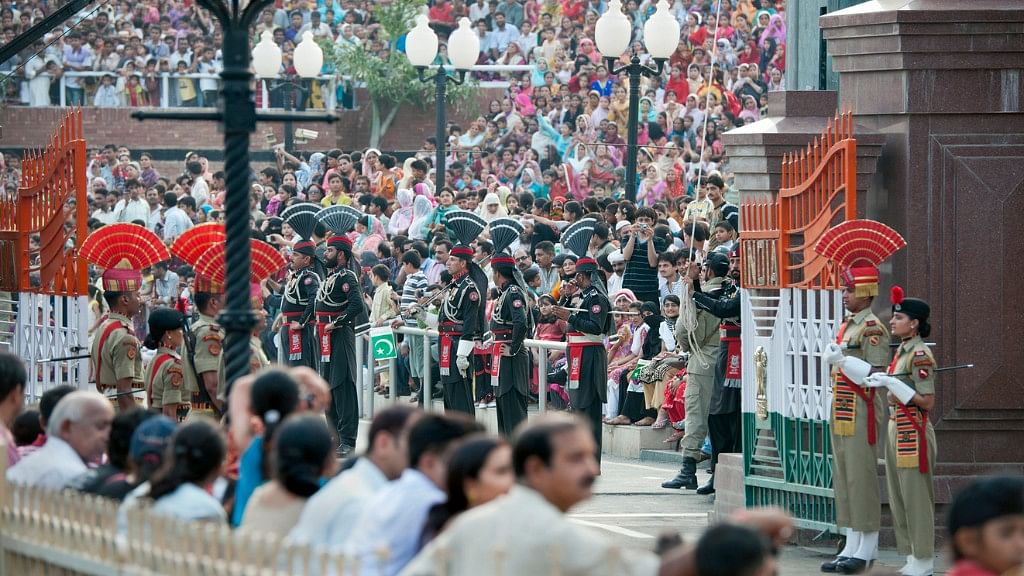 The Wagah-Attari ceremony is the most popular one, attracting thousands of visitors every day. (Photo: iStock)