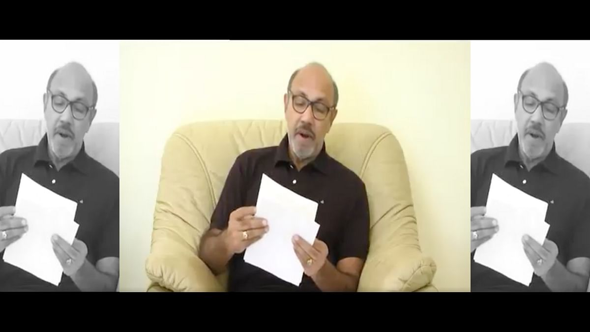 Sathyaraj apologises for his comments against Karnataka made 9 years back. (Photo courtesy: Twitter)