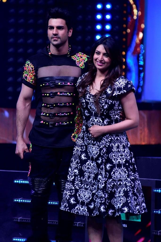 Divyanka and Vivek couldn't perform together. (Photo courtesy: Star Plus)