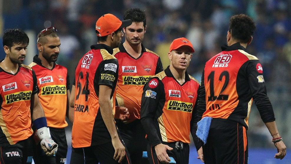 Sunrisers Hyderabad lost their first IPL 10 match to Mumbai Indians. (Photo: BCCI)
