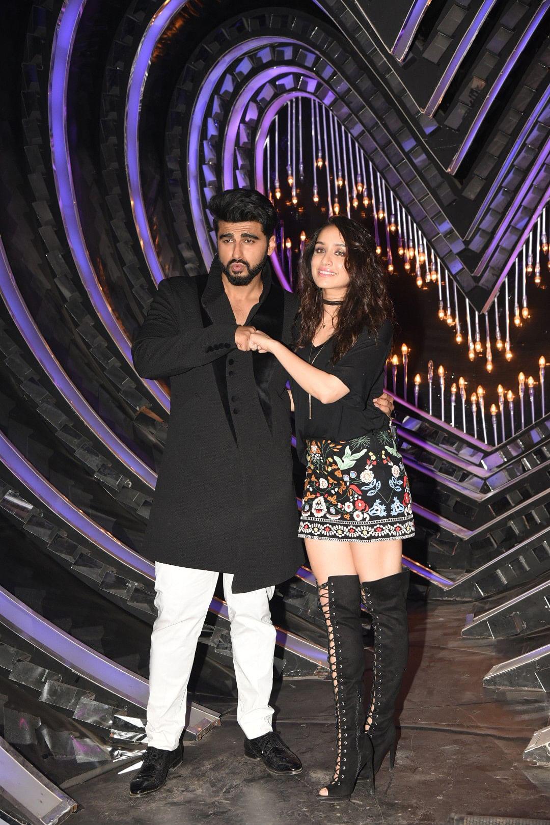 Arjun Kapoor and Shraddha Kapoor pose for the camera. (Photo: Yogen Shah)
