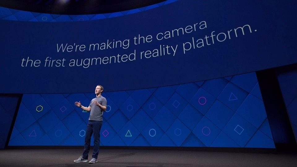 """Facebook CEO Mark Zuckerberg at the F8 Conference. (Photo Courtesy: <a href=""""https://newsroom.fb.com/news/2017/04/f8-2017-day-1/"""">Facebook Newsroom</a>)"""