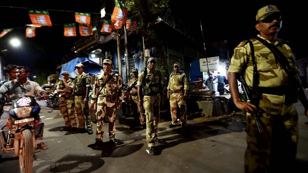 File photo of CRPF personnel used for representational purposes only.