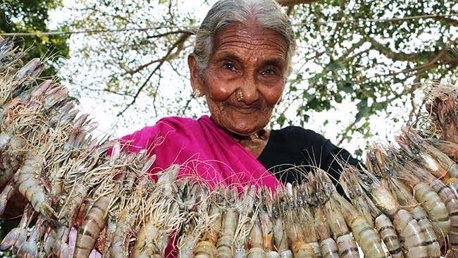 Mastanamma lives in a remote village called Gudivada in Andhra's Guntur district. (Photo Courtesy: The News Minute)