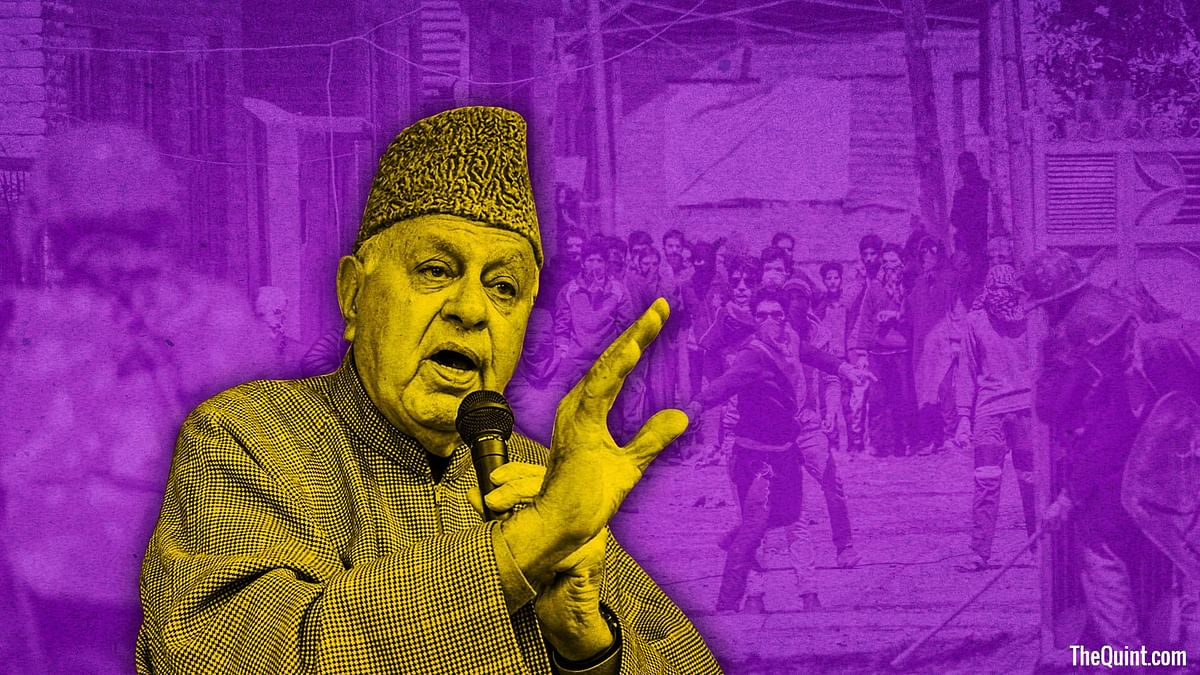 Seething with anger against Mehbooba-led govt, Kashmiris give vent to their frustration by voting in favour of NC. (Photo: Harsh Sahani/ <b>The Quint</b>)