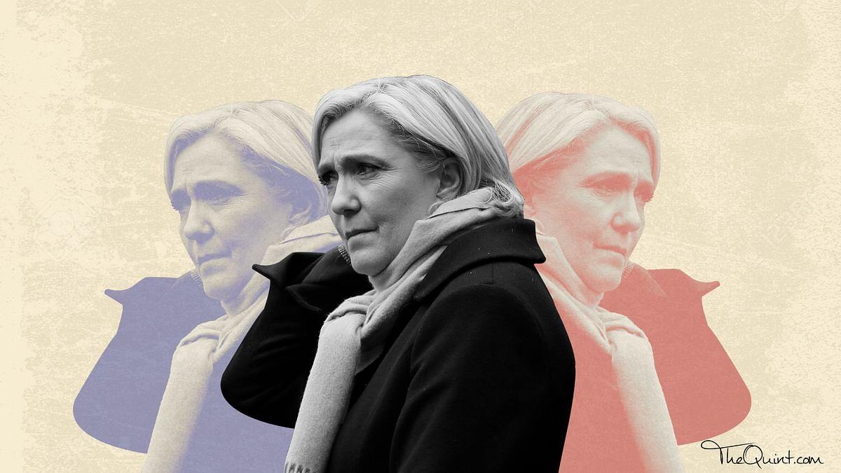French Presidential candidate Marine Le Pen. (Photo: Rhythum Seth/<b>The Quint</b>)
