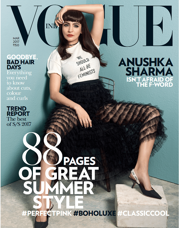 The cover of the Vogue India March 2017 issue. (Photo Courtesy: Vogue India)