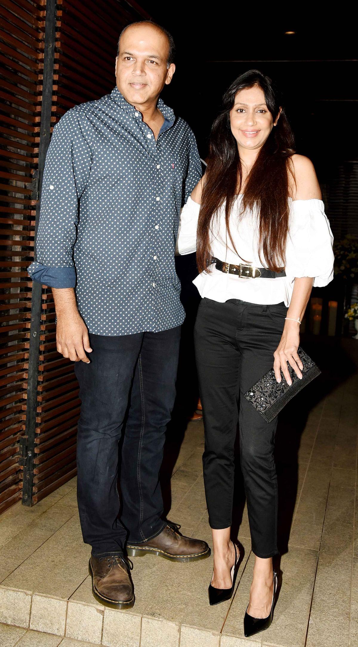 Ashutosh and Sunita Gowariker complement each other. (Photo: Yogen Shah)