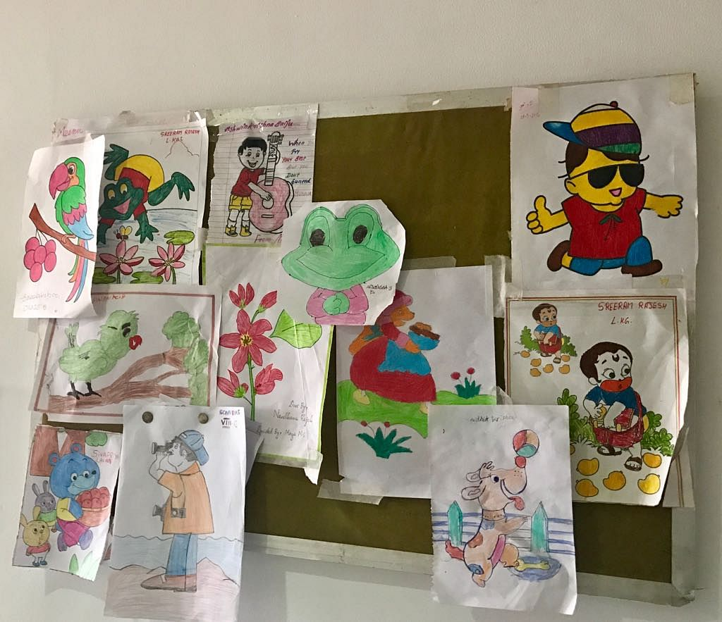 Kids' drawings in Paediatric Cardiology. (Photo: <b>The Quint</b>)