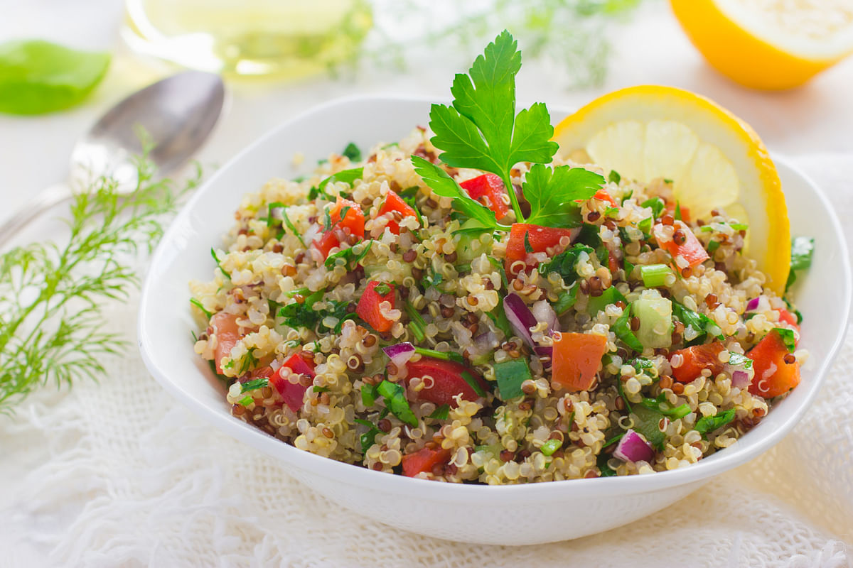 The protein in quinoa is of unusually high quality; it is a complete protein. (Photo: iStock)