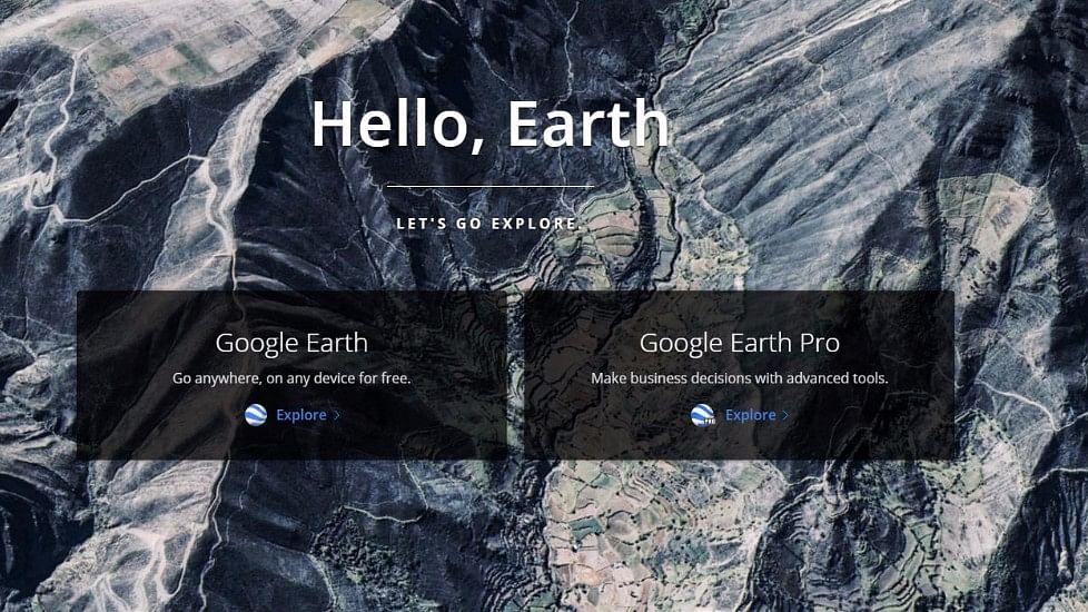 Google Earth is set for a revamp. (Photo Courtesy: Google Earth screengrab)