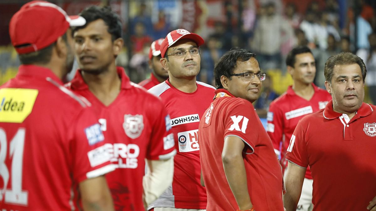 KXIP's Head of Cricket Operations Virender Sehwag's influence has been seen both on and off the field for the team. (Photo: BCCI)