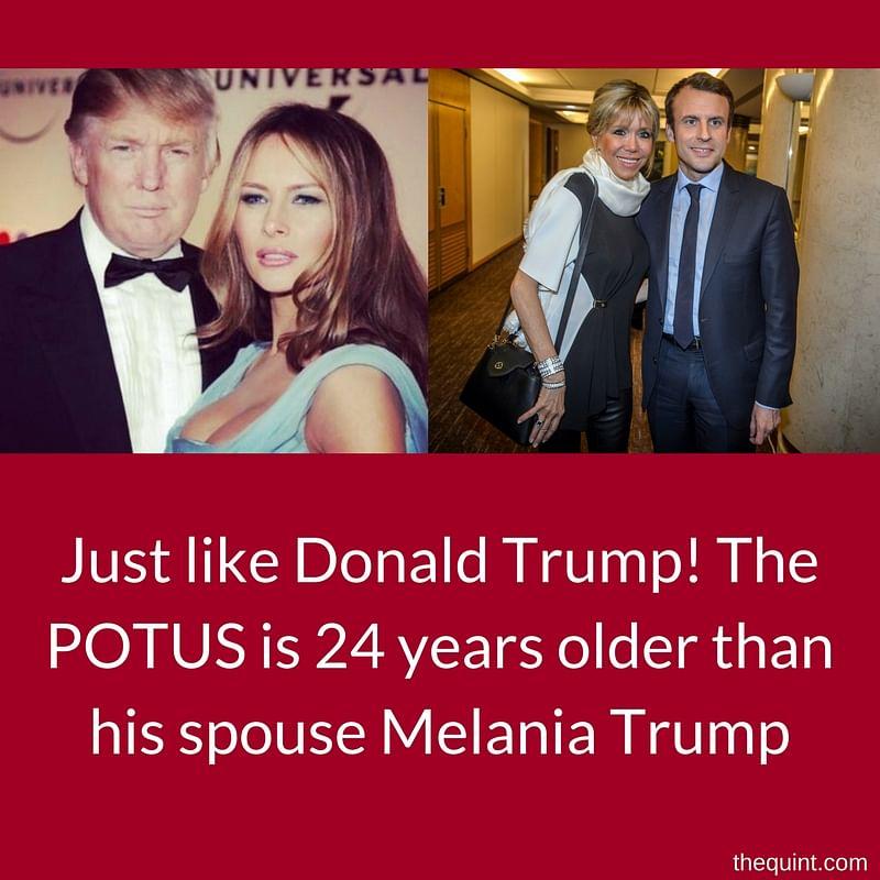"(Photo: <a href=""https://www.facebook.com/MelaniaTrump/"">Facebook/Melania Trump</a>/AP/Altered by <b>The Quint</b>)"