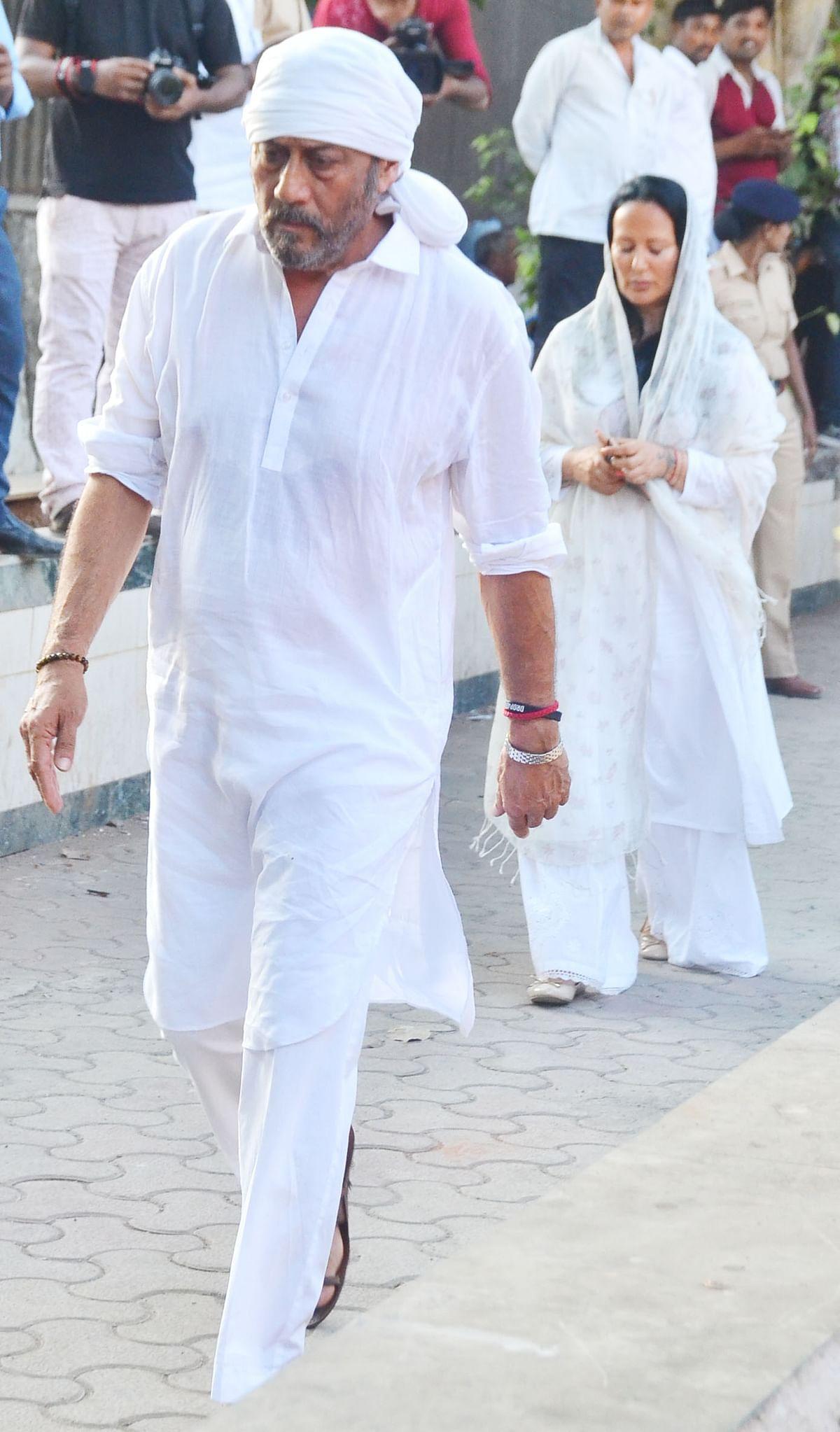 Jackie Shroff was also present. (Photo: Yogen Shah)