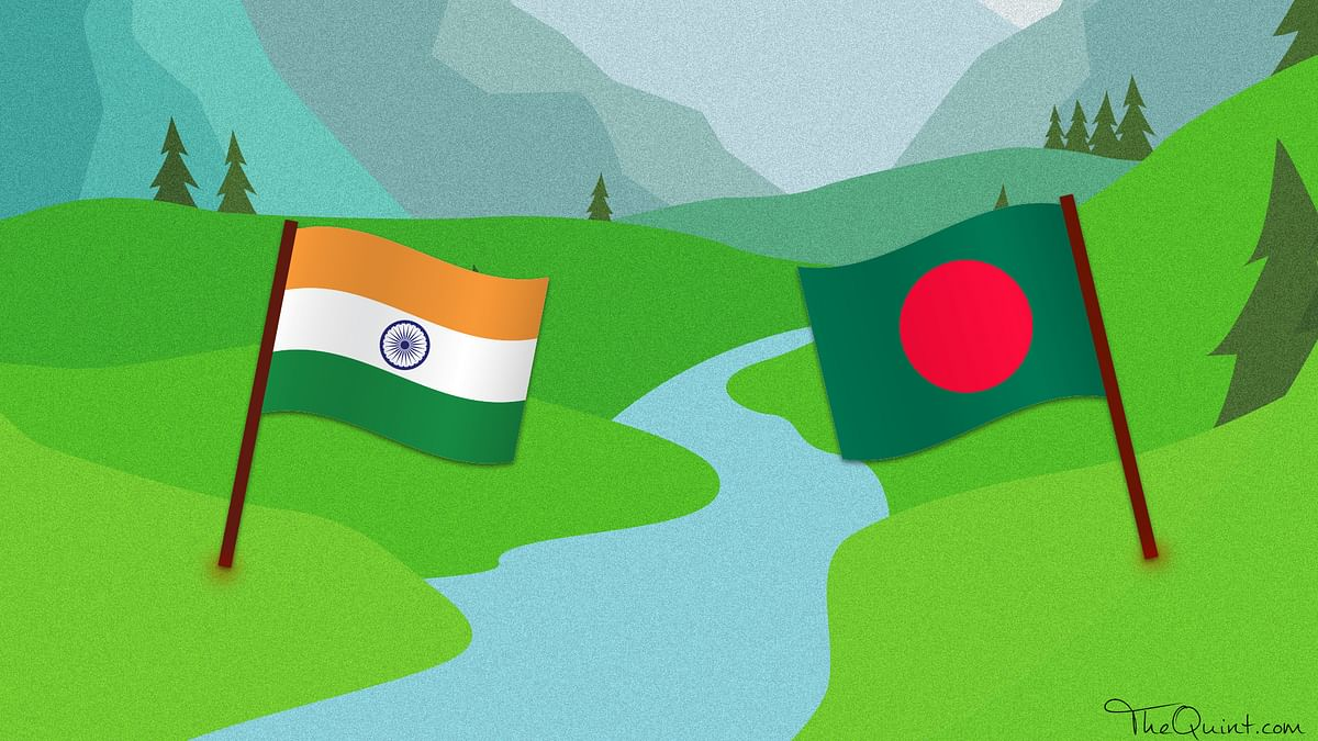 Deadlock over sharing Tessta river waters couldn't be resolved during Sheikh Hasina's recent visit to India. (Photo: Rhythum Seth/ <b>The Quint</b>)