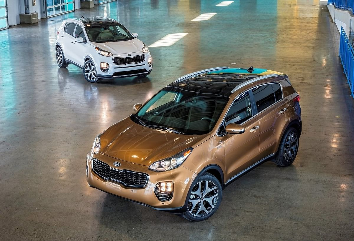 """Could the Kia Sportage be the compact SUV Kia is planning on launching? (Photo: <a href=""""https://www.netcarshow.com/kia/2017-sportage_us-version/1280x960/wallpaper_06.htm"""">Netcarshow</a>)"""
