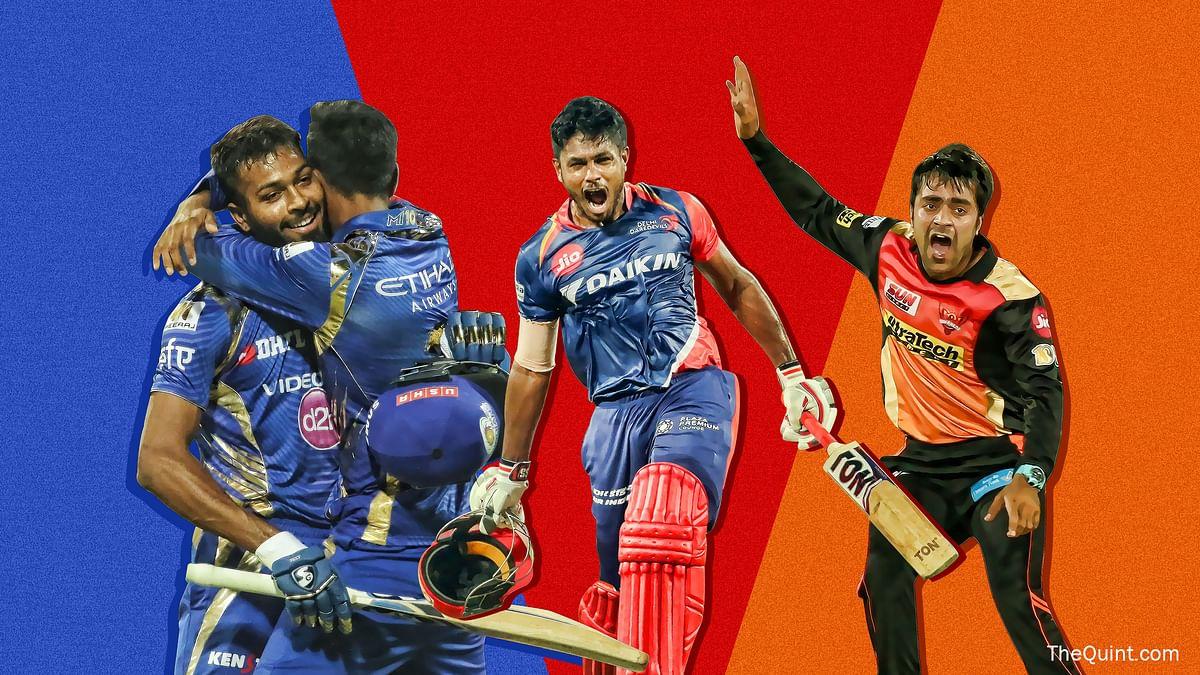 Hardik Panya, Sanju Samson and Rashid Khan have stolen the show in the IPL so far. (Photo: BCCI)