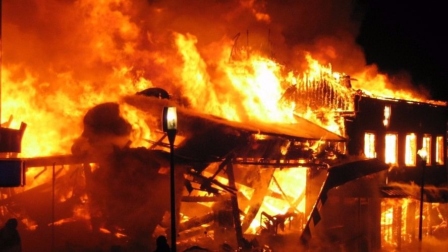 The fire reportedly broke out in a ration store. Image used for representational purpose. (Photo: iStock)