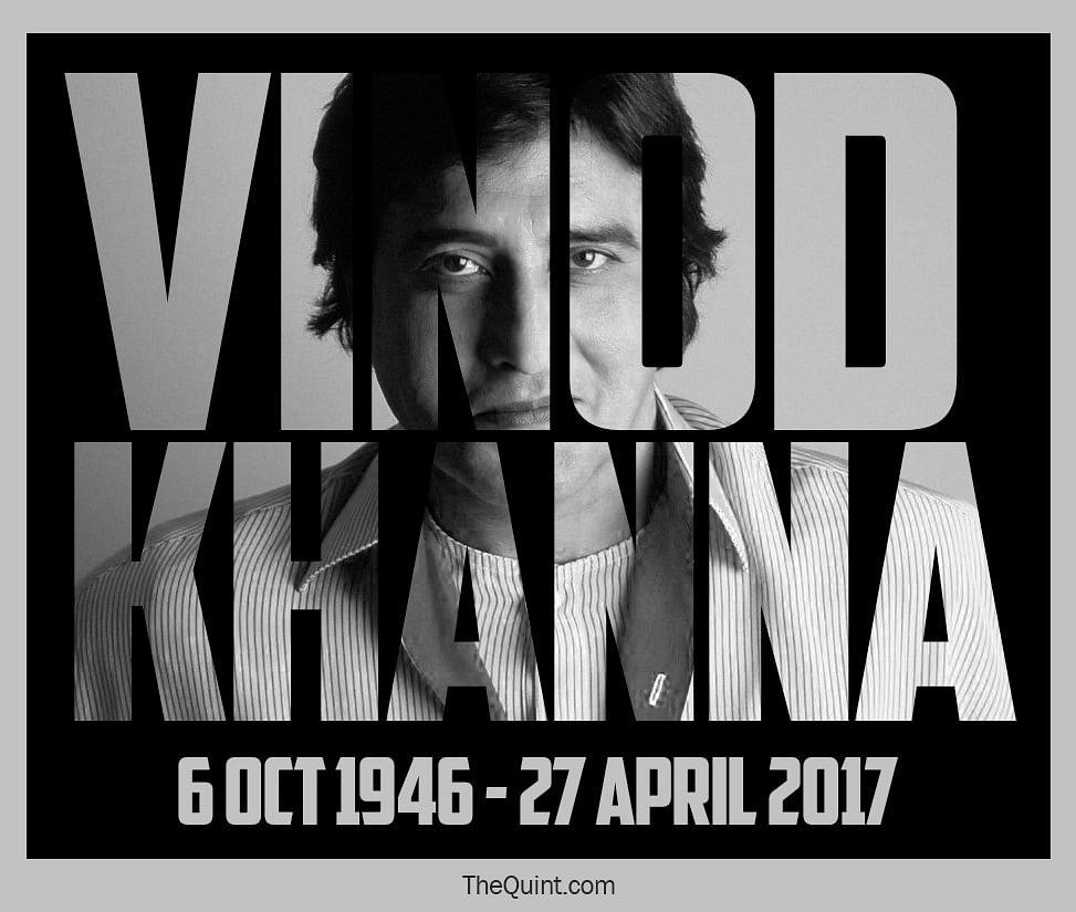 RIP Vinod Khanna