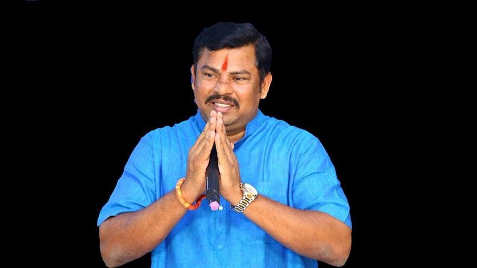 "BJP MLA T Raja Singh had said in April that the heads of ""traitors"" opposing the construction of Ram temple in Ayodhya will be chopped off."