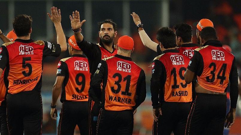 Sunrisers Hyderabad beat Delhi Daredevils by 15 runs. (Photo: BCCI)