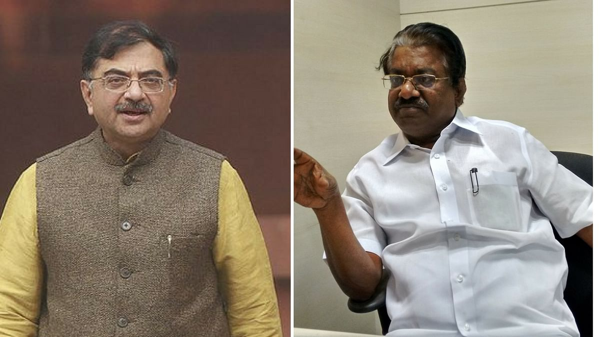 Tarun Vijay's comment was met with reverse racism by at least one DMK leader, TKS Elangovan. (Photo: Altered by <b>The Quint</b>)