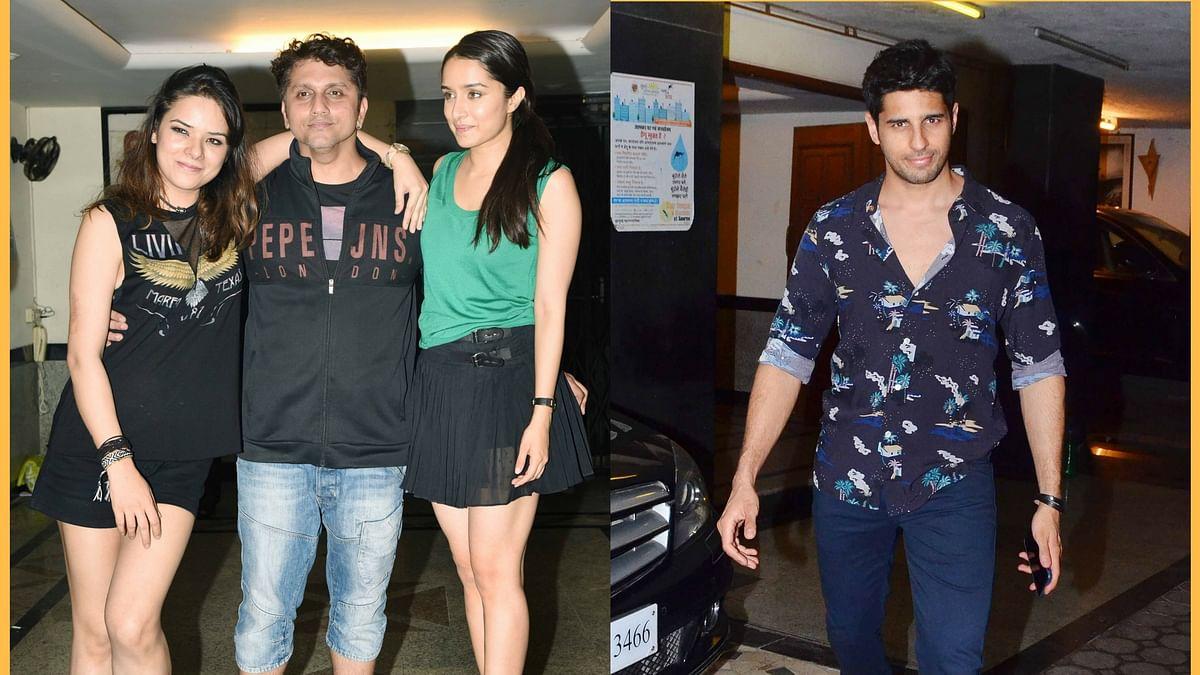 Udita, Mohit Suri, Shraddha Kapoor and Siddharth Malhotra. (Photo: Yogen Shah)