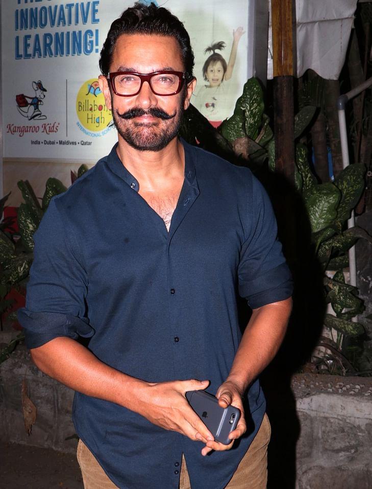 Aamir Khan smiles for the camera. (Photo: Yogen Shah)