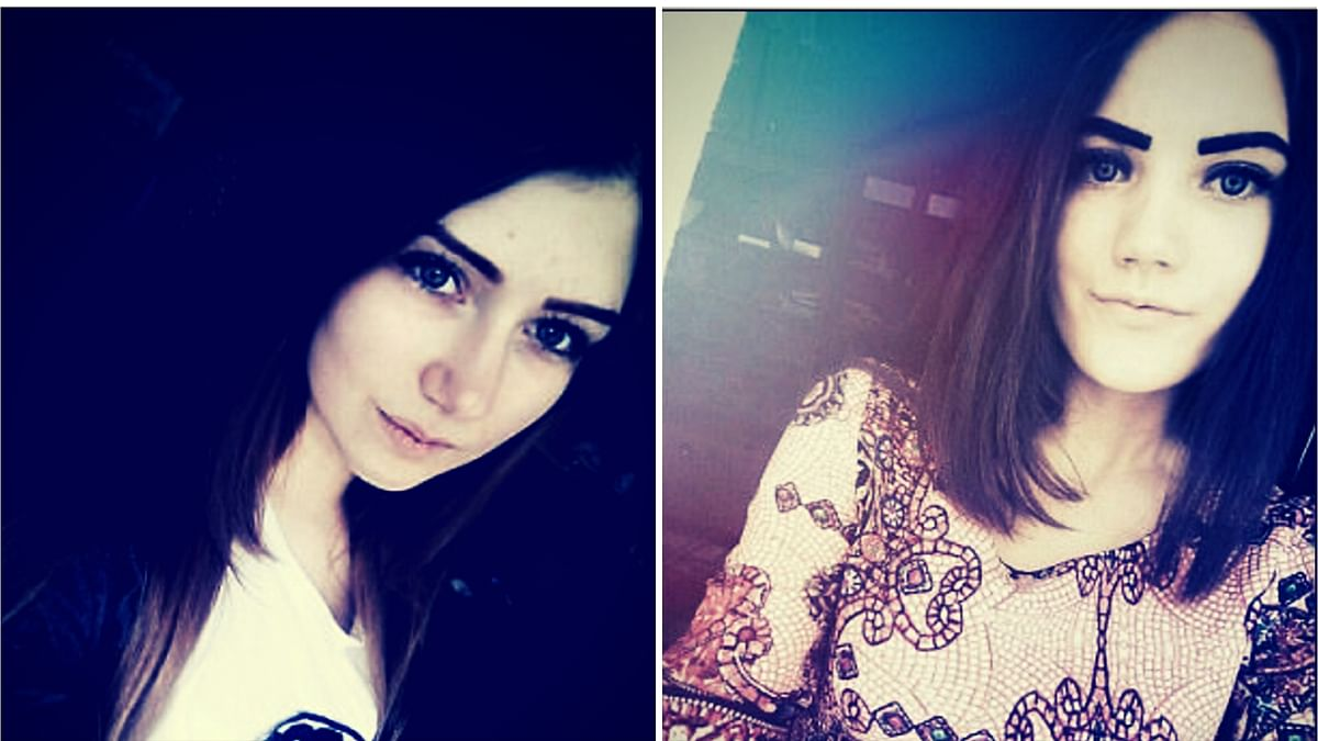 Yulia Konstantinova (left) and Veronika Volkova (right) from Russia are believed to be  victims of the 'Blue Whale' game. ( Photo: )