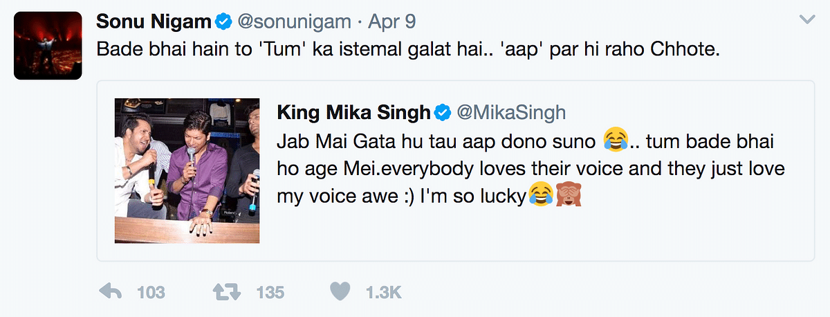 Decoding Sonu Nigam on Twitter – Before He Shaved Off His Hair