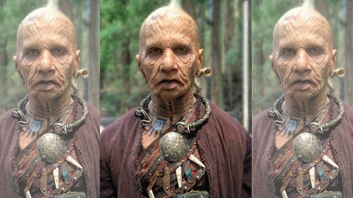 Rajkummar Rao has undergone a complete transformation for his cameo in <i>Raabta</i>. (Photo courtesy: Twitter/&nbsp;