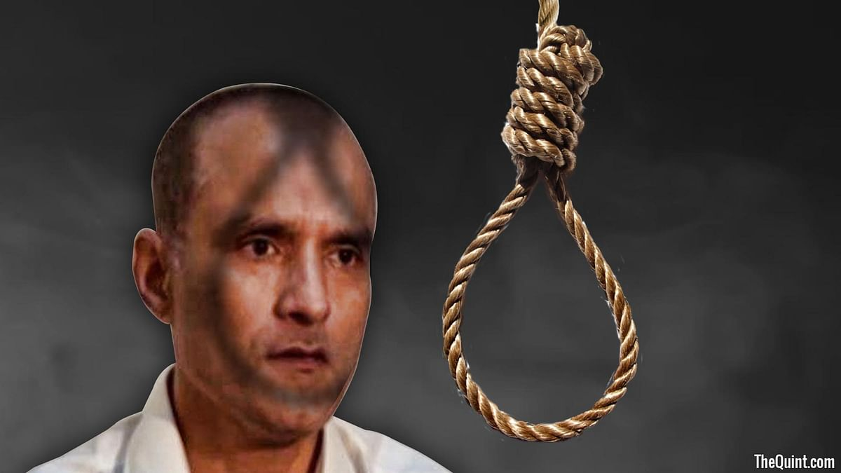 Kulbhushan Jadhav, who Islamabad alleges is a RAW spy, was on Monday given the death sentence by a Pakistani military court. (Photo: <b>The Quint</b>)