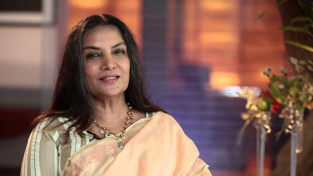 Shabana Azmi Slammed for Speaking out Against Oppression