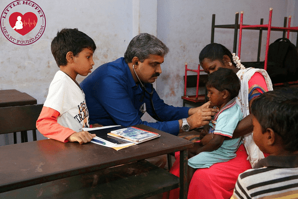 Dr Gopi and his wife quit their well-paying jobs to treat children with CHD (Photo: Little Moppet Heart Foundation)