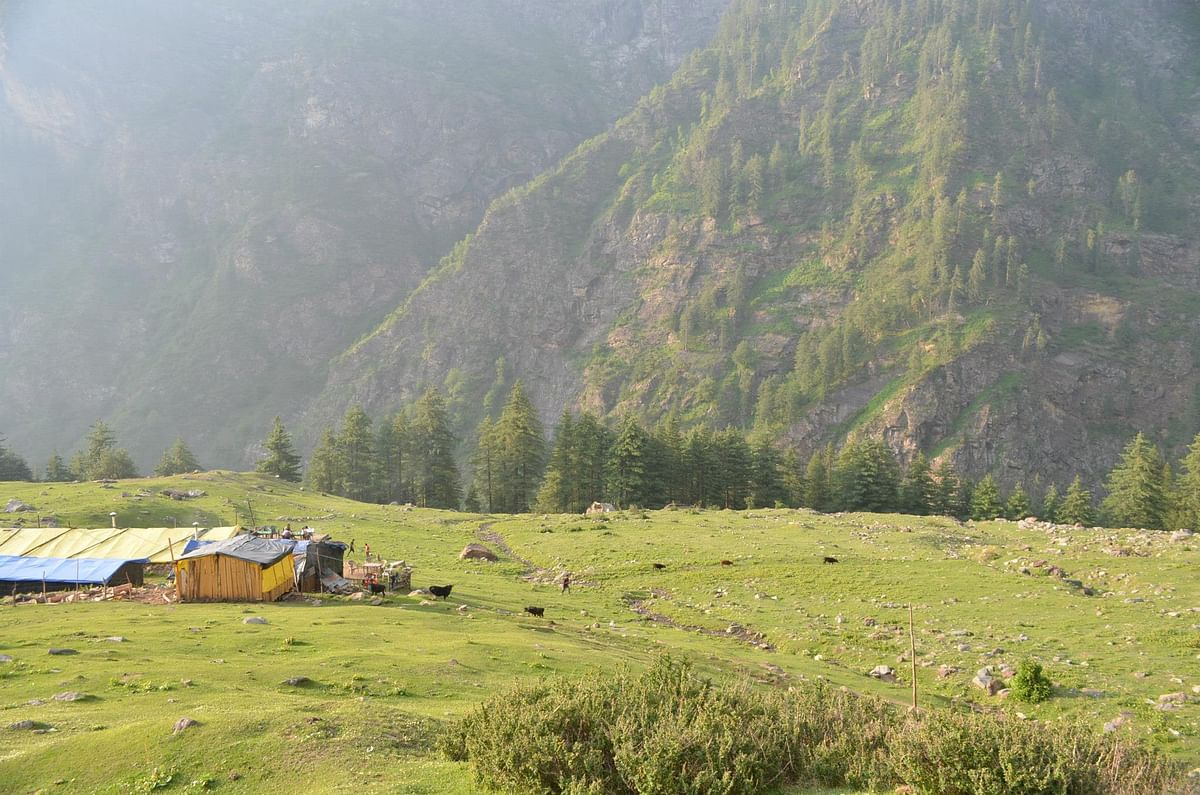 A beautiful location in Kheer Ganga.
