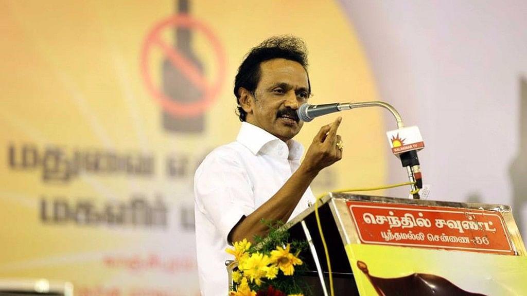 DMK working president MK Stalin