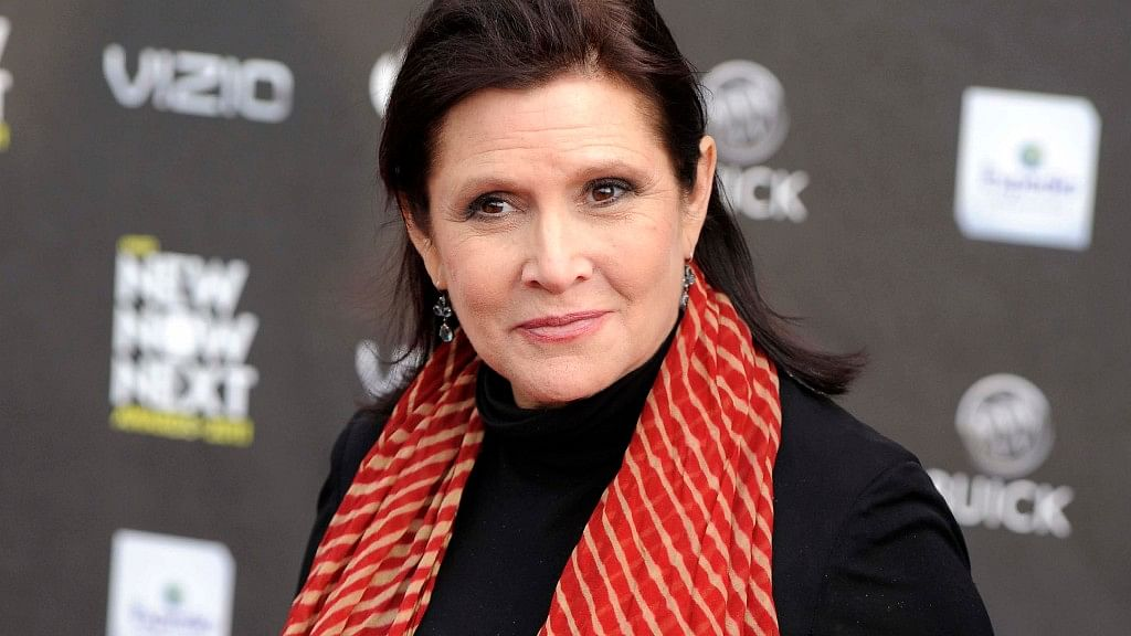 """Fisher had finished filming the upcoming """"Star Wars: The Last Jedi"""" before she passed away in December. (Photo: AP)"""