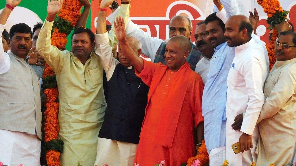 Yogi Adityanath was sworn in as the Uttar Pradesh Chief Minister on 19 March. (Photo: IANS)