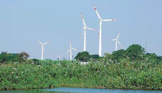 A wind farm in Dhule Maharashtra (Photo Courtesy: India Climate Dialogue)