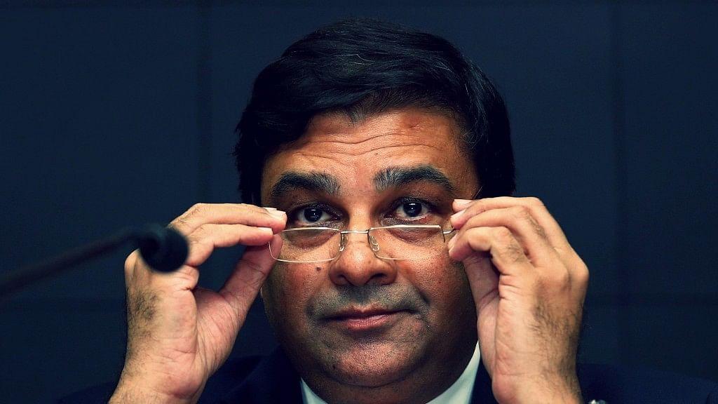 RBI Governor Urjit Patel.