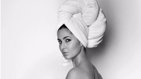 Katrina Kaif Sizzles In Mario Testino's Towel Series