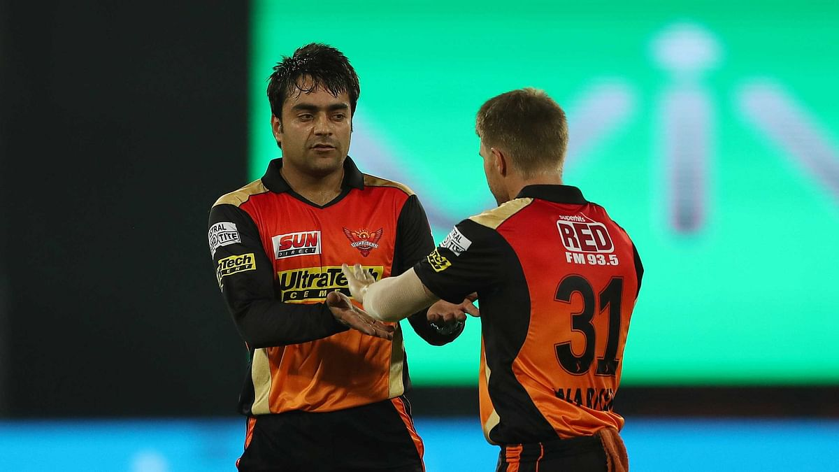 Sunrisers Hyderabad legspinner Rashid Khan was not at his best against RCB and remained wicketless.