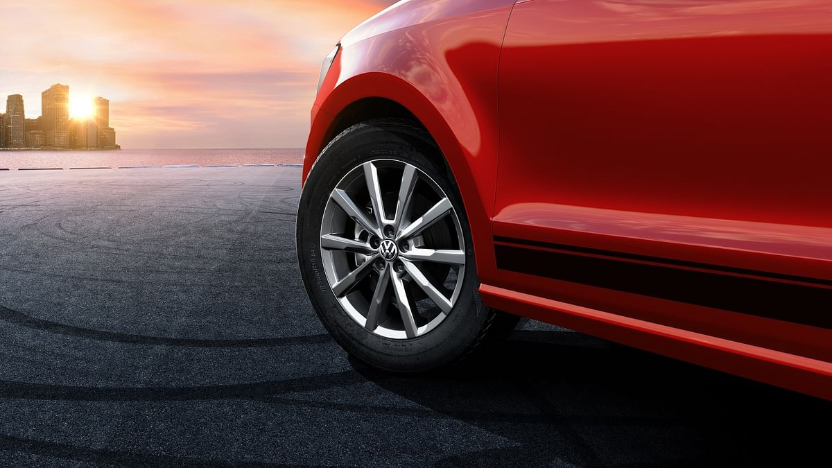 16-inch alloy wheels are a new addition. (Photo: Volkswagen India)