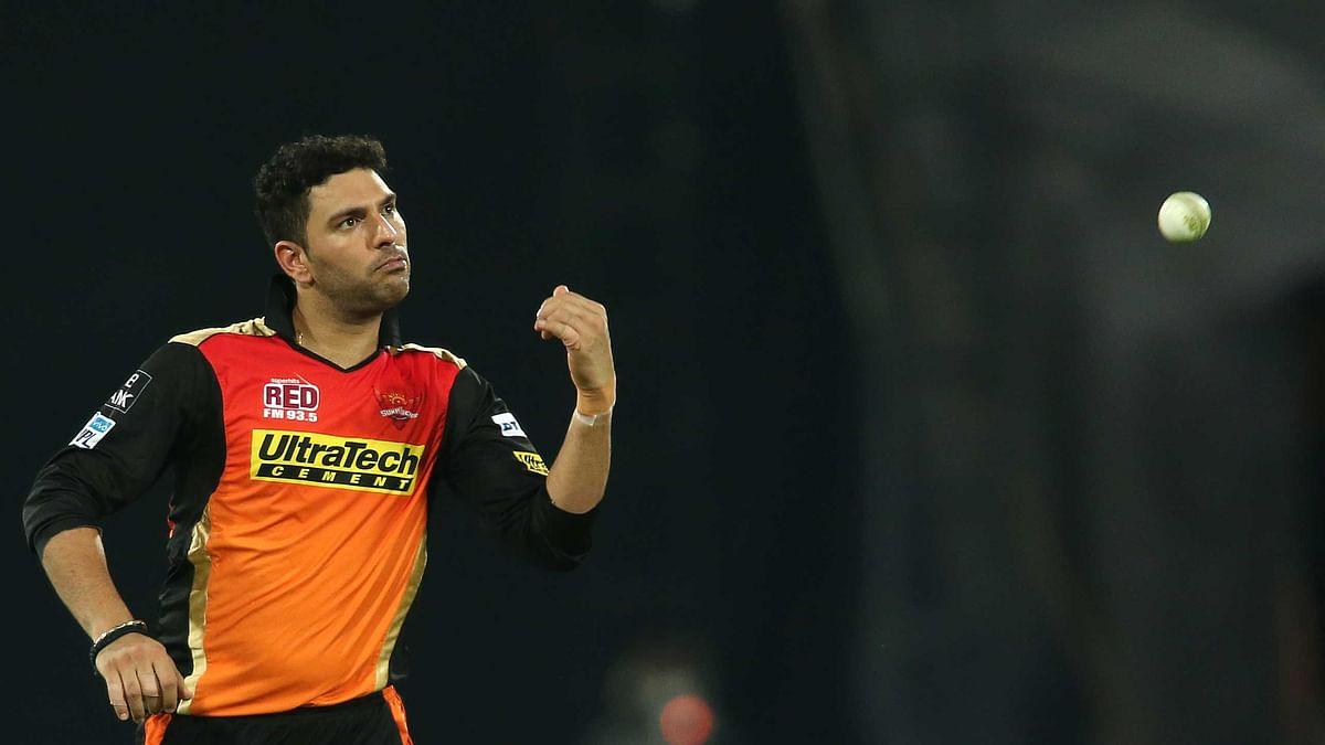 Yuvraj Singh is playing IPL 10 for Sunrisers Hyderabad.